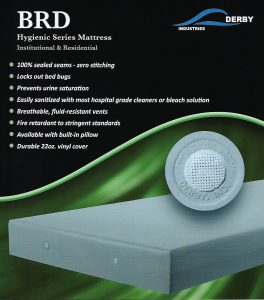 Derby Industries BRD Bed Bug Proof Mattress