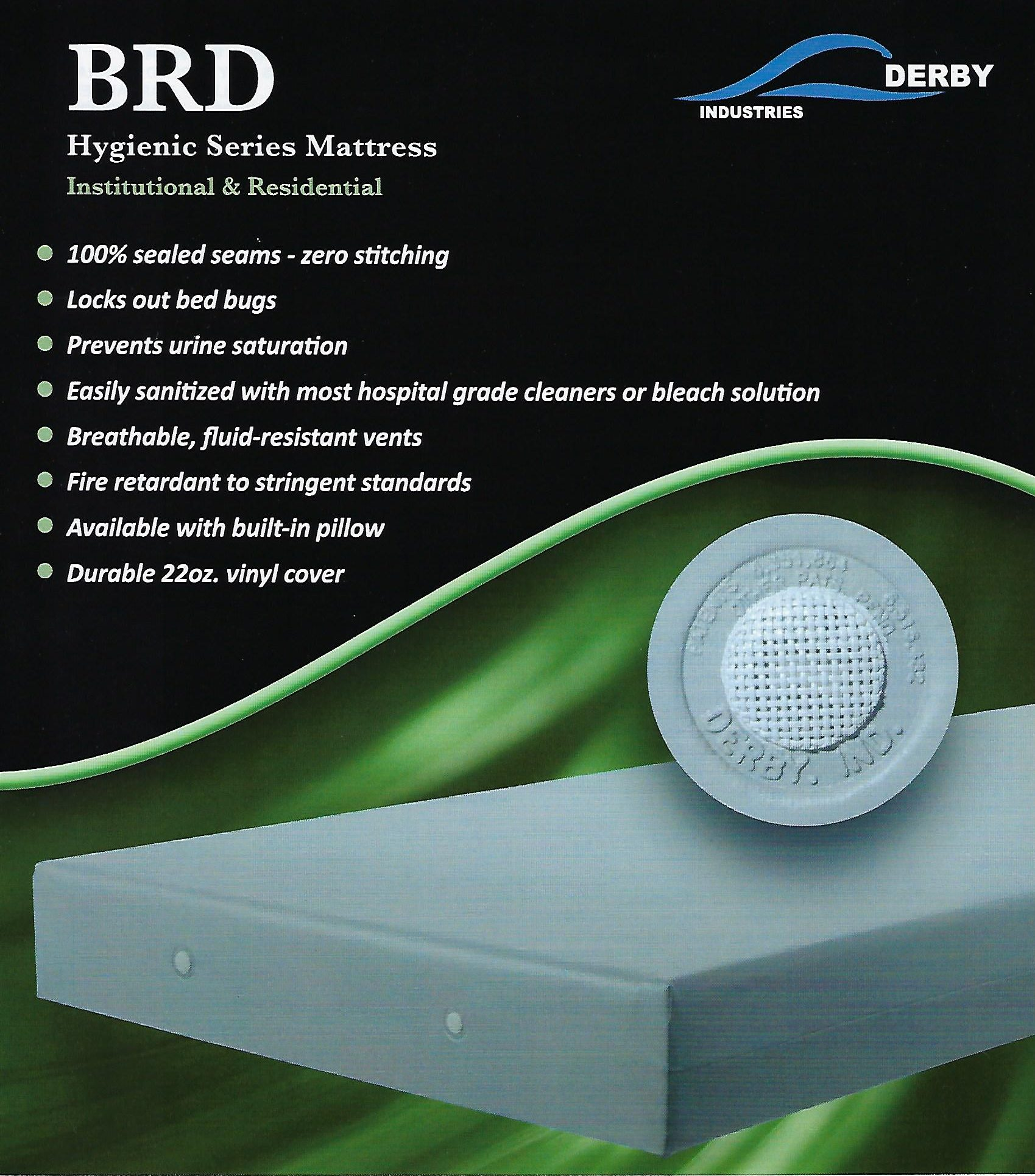 Derby Industries BRD Bed Bug Proof Mattress