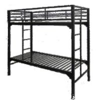 Adjustable height bunk beds