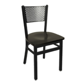 Checker Back Dining Chair