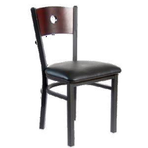 Punch Back Dining Chair