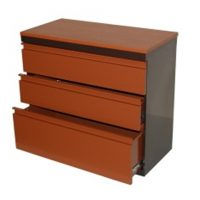 Steel 3 drawer chest
